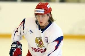 Игорь Макаров в форме сборной России