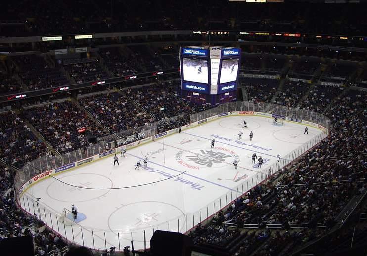 Verizon Center - вид внутри арены