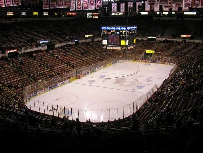 Joe Louis Arena - вид внутри арены
