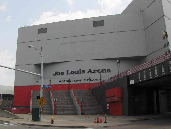 Joe Louis Arena - арена
