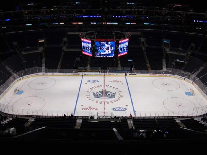 Staples Center - вид внутри арены