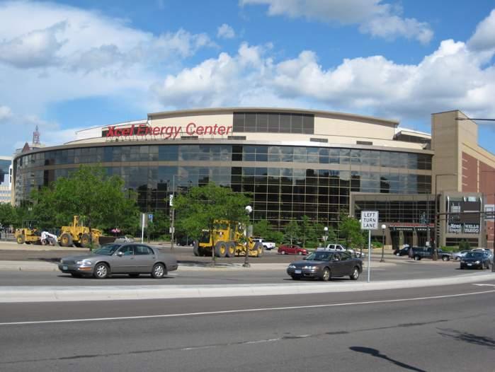 Xcel Energy Center - арена