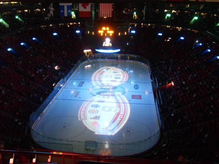 Bell Centre - вид внутри арены