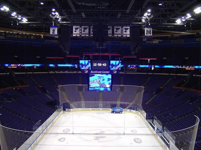 Scottrade Center - вид внутри арены