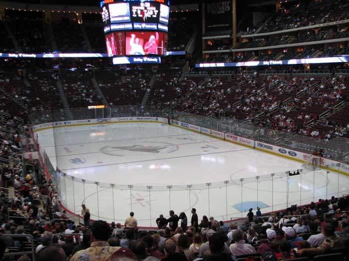 Jobing.com Arena - вид внутри арены
