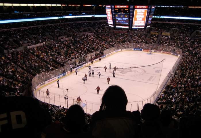 BankAtlantic Center - вид внутри арены