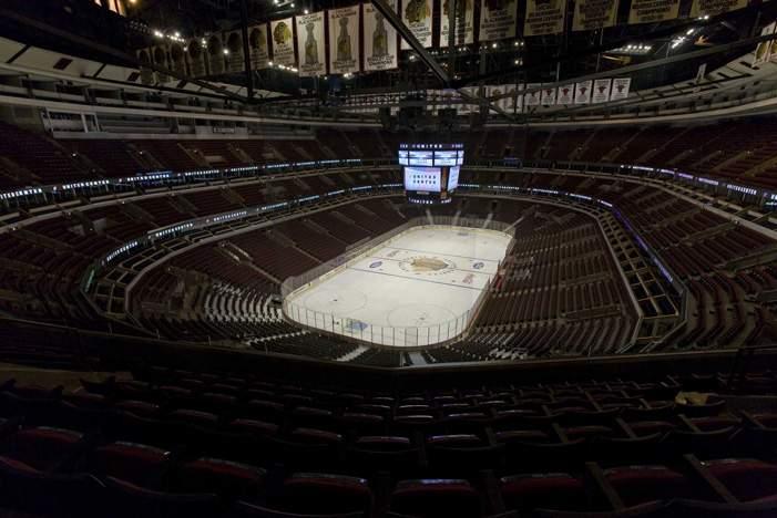 United Center - вид внутри арены