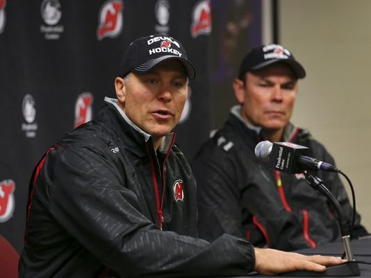 Скотт Стивенс (слева) и Адам Оутс